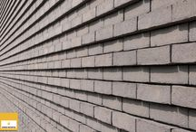 Bricks: Facade details / Get an impression of how our bricks will fit in your facade. These images will also show you how bonds and joints can influence the character of our bricks.