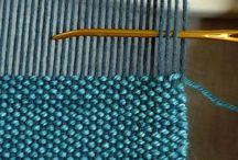 плетёный ковер