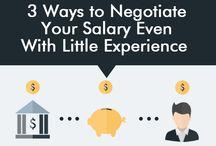 salary negotiation / by LU Career Center
