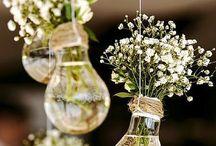 Hochzeit: Deko
