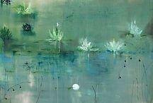 Китайская живопись и графика / Цветы и птицы. Вода и горы.