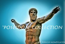 """The """"Poseidon"""" Collection / The """"Poseidon"""" Collection by Pericles Kondylatos arises from the deep blue Aegean sea! Made of Poseidon's treasures: pearls, corals and lava!"""