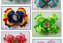 bottlecap hair bow