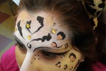 Face painting / Maquillaje artistico para eventos☆Butterfly