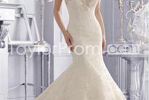 wedding dress ideas / by Sherrie Shubert
