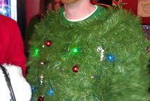 Crazy, Kooky Christmas Time / Getting a leg up on Christmas party planning. I'm taking the Ugly Sweater Party to new levels!