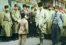 Mustafa Kemal ATATÜRK / Renkli Atatürk'ümüzün Fotoğraf Arşivi Yapmak amacım