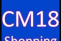 CM18 Shopping / Sales CM18 Postcode district Harlow