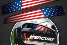 Mercury racing decals!