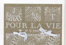 Counted Cross stitch patterns - Lace