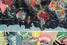 Imaginative maps / by Tricia Burton