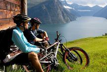 Radfahrern in Norwegen