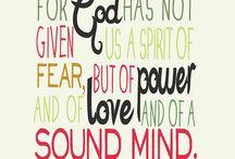 Favorite Bible verses / by Carla O'boyle