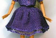 B803 Barbie/Puppen/Dolls/Stickatilbarbie.Se