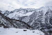 Winter in the Alps / Winter pictures in the marvellous alps. www.trekking-alps.com