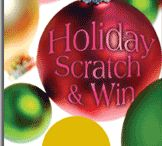 Christmas & Holiday Scratch Off Cards