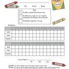 Preschool pre-assessment
