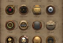 STEAMPUNK - UI Inspiration