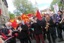London May Day 2015 march / by Stronger Unions from the TUC