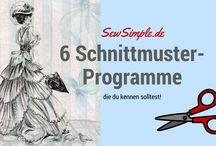 Schnittmuster - - - Programme