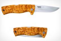 Kniv / Frilufts/jakt-utstyr og anna.