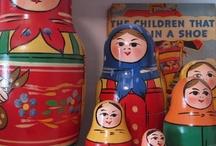 ryska dockor