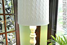 lampy, světýlka, stínítka