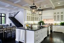 Kitchen Desire / {kitchens = heart of the home.  mine desires to be fabulous someday!} / by Rachel Stewart Trice