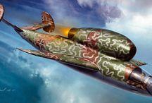 Nazi Aircraft / Real, conceptual and fantastical Nazi era aircraft
