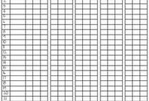 Behavior Charts / by Leslie Simpson