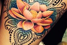 Lotus flower tattoos