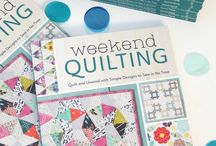 Weekend Quilting by Jemima Flendt / Weekend Quilting - fun, patchwork and quilting designs to make in a short time frame, mini quilts, pillow, table runners to make in a weekend, quick quilting, patchwork, modern quilting