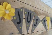 Yellow and Gray Party / by Alicia Donati