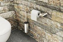 1. Toilet accessoires / Met de juiste toilet accessoires maak je het toilet helemaal af.