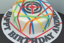 Will laser tag cake