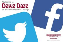 Social Media Scavenger Hunt - Dawg Daze 2014 / During the 2014 Dawg Daze, Mississippi State's welcome back celebration, the Library hosted a Social Media Scavenger Hunt.