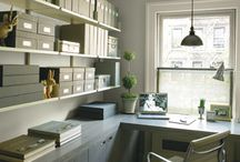 Interiors : Home office/ Study / Work space at home- privileged..