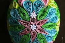 QUILLING OVO / PASCOA
