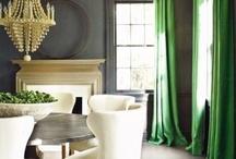 zielono mi / green color in interior design / Jak ożywić wnętrze? Najlepiej kolorem. Może zielonym? Home decor ideas