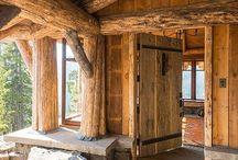 Barns, Cabins & Cottages / by Ali Acevedo