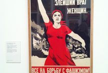 Russian Political images from Tate Modern Exhibition / UAL - LCC Mood Board