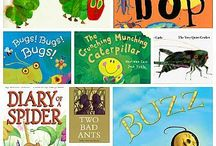 Preschool books on bugs