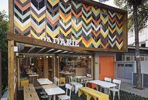 contemporary cafe