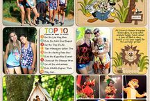 Scrapbook Pages: Disney: Animal Kingdom