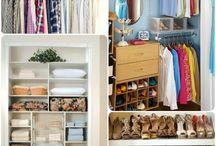 Closet Organizer / by Linda Driscoll-Hughes
