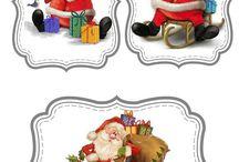 Etiquettes de fêtes