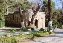 "House of Virgin Mary / Located on the top of the ""Bulbul"" mountain 9 km ahead of Ephesus, the shrine of Virgin Mary enjoys a marvelous atmosphere hidden in the green. It is the place where Mary may have spent her last days. Indeed, she may have come in the area together with St. John, who spent several years in the area to spread Christianity."