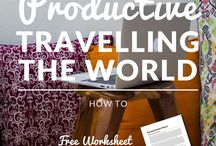 Work While Traveling the World