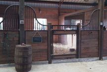 stables and horse stuff