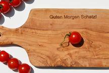 Olivenholz für Tisch & Tafel